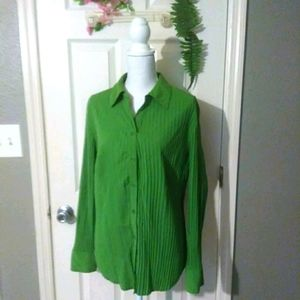 EAST 5TH PLEATED BLOUSE